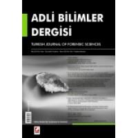 Adli Bilimler Dergisi – 2012 Yılı Abonelik