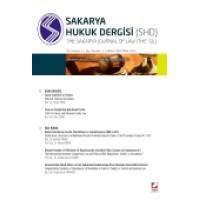 Sakarya Üniversitesi Hukuk Fakültesi Dergisi Cilt:1 – Sayı:2 Aralık 2013