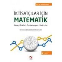 İktisatçılar İçin Matematik Denge Analizi – Optimizasyon – Endeksler