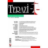 Terazi Aylık Hukuk Dergisi Sayı:24 Ağustos 2008