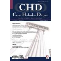 Ceza Hukuku Dergisi Sayı:31 – Ağustos 2016