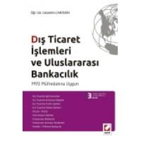 Dış Ticaret İşlemleri ve Uluslararası Bankacılık MYO Müfredatına Uygun