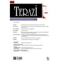 Terazi Aylık Hukuk Dergisi Sayı:74 Ekim 2012