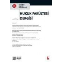 İstanbul Kültür Üniversitesi Hukuk Fakültesi Dergisi Cilt:14 – Sayı:2 Temmuz 2015