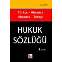 Türkçe – Almanca, Almanca – Türkçe Hukuk Sözlüğü