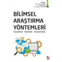 Bilimsel Araştırma Yöntemleri<br />  Kavramlar – Analizler – Araştırmalar