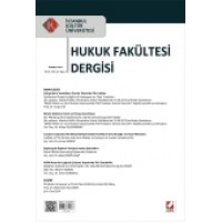 İstanbul Kültür Üniversitesi Hukuk Fakültesi Dergisi Cilt:12 – Sayı:2 Temmuz 2013