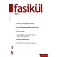 Fasikül Aylık Hukuk Dergisi Sayı:1 Aralık 2009 (Özel Sayı)