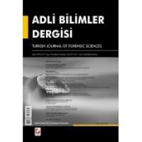 Adli Bilimler Dergisi – Cilt:11 Sayı:2 Haziran 2012