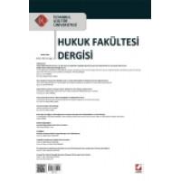 İstanbul Kültür Üniversitesi Hukuk Fakültesi Dergisi Cilt:13 – Sayı:1 Ocak 2014