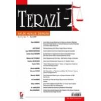 Terazi Aylık Hukuk Dergisi Sayı:7 Mart 2007