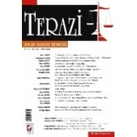Terazi Aylık Hukuk Dergisi Sayı:19 Mart 2008