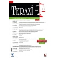 Terazi Aylık Hukuk Dergisi (Özel Sayı) Kasım 2014 (Yaşar Üniversitesi Hukuk Fakültesi Tüketici Hukuku Sempozyumu)
