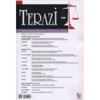 Terazi Aylık Hukuk Dergisi Sayı:106 Haziran 2015