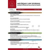Melikşah Üniversitesi Hukuk Fakültesi Dergisi Cilt:2 Sayı:1 Haziran 2013