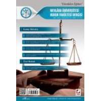 Mevlana Üniversitesi Hukuk Fakültesi Dergisi Cilt:3 – Sayı:1 Haziran 2015