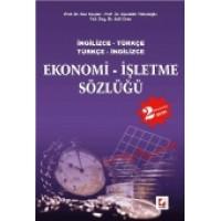 İngilizce – Türkçe / Türkçe – İngilizceEkonomi İşletme Sözlüğü