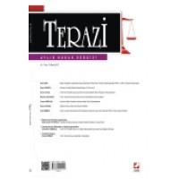 Terazi Aylık Hukuk Dergisi Sayı:75 Kasım 2012