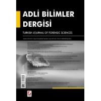 Adli Bilimler Dergisi – Cilt:12 Sayı:2 Haziran 2013