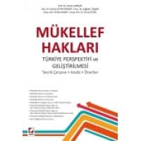 Mükellef Hakları<br />  Türkiye Perspektifi ve Geliştirilmesi