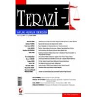 Terazi Aylık Hukuk Dergisi Sayı:17 Ocak 2008