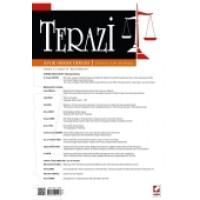 Terazi Aylık Hukuk Dergisi Sayı:103 Mart 2015